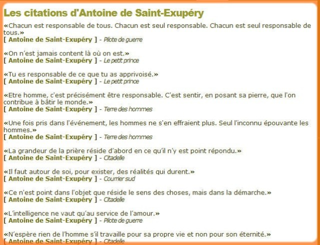 Citations De St Exupery Papyrandonneur S Blog Pyrenees
