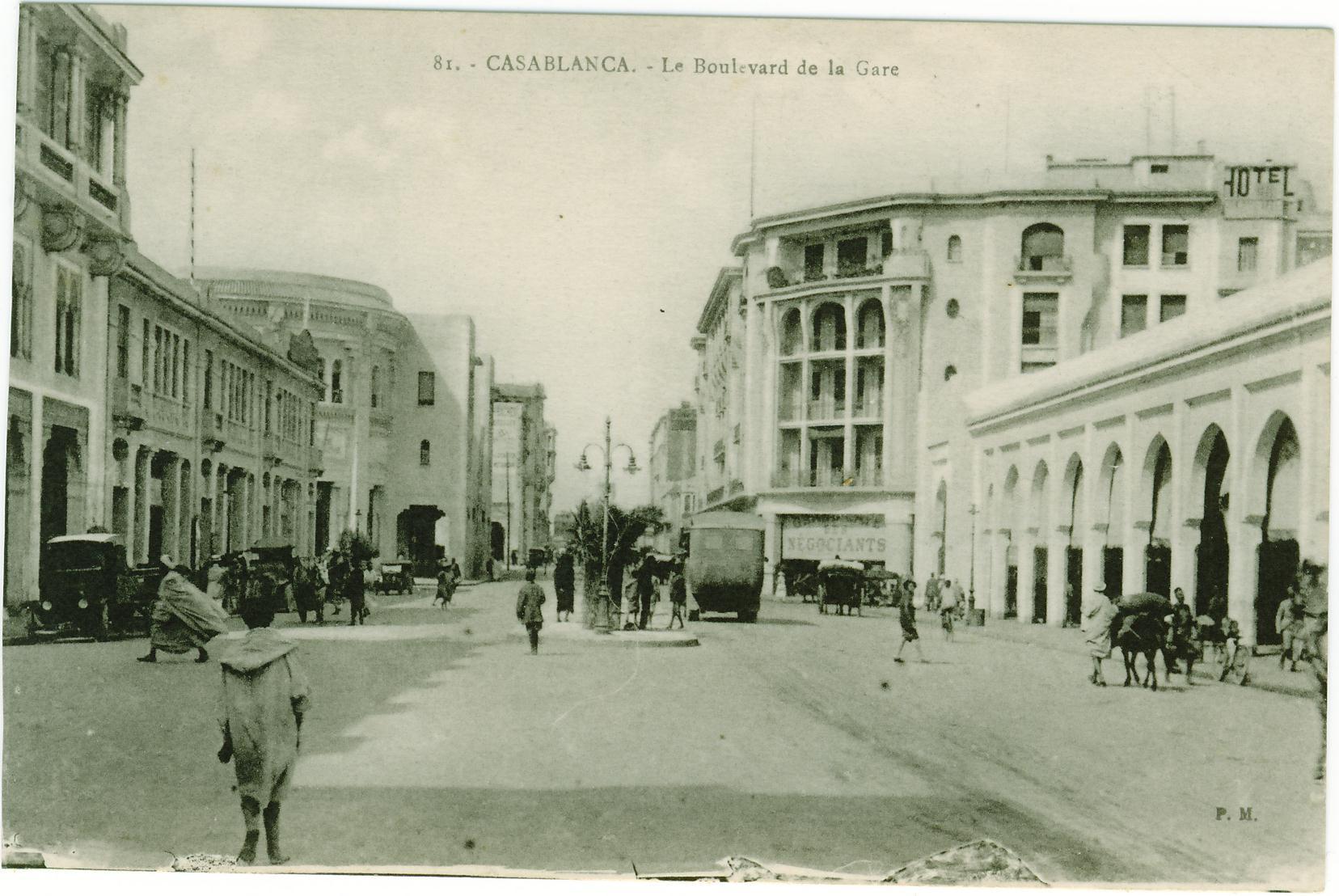 Quelques Anciennes Cartes Postales De Casablanca