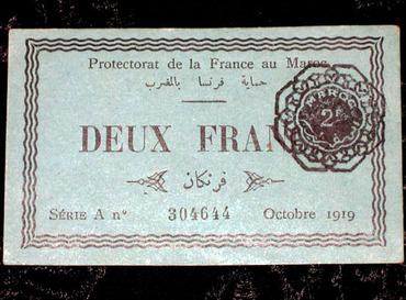 billet 1919 ....1