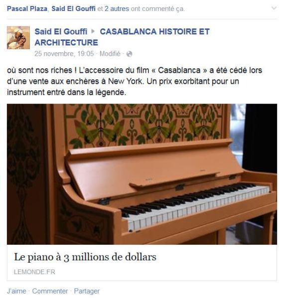 PIANO BAR CASA