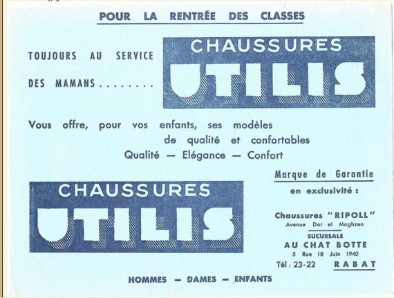 CHAUSSURES UILIS RABAT