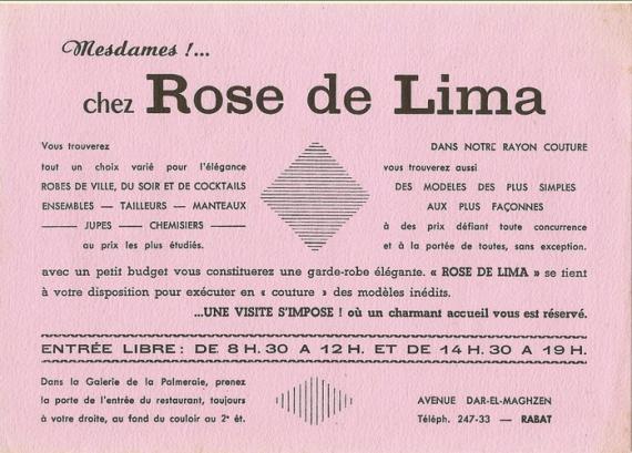 ROSE DE LIMA RABAT